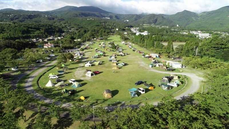 霧島高原国民休養地キャンプ場