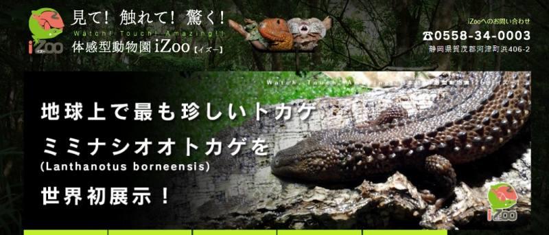 体感型動物園IZoo