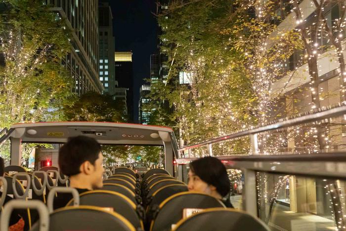冬限定!東京絶景ナイトバスクルーズ コロナ対策も