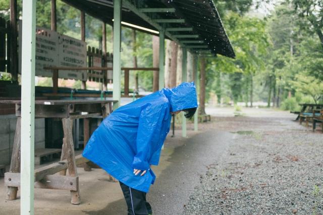 雨のキャンプはやめておけ!雨キャンプのデメリット10選